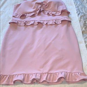 Fashion Nova Pink Bodyccon Dress